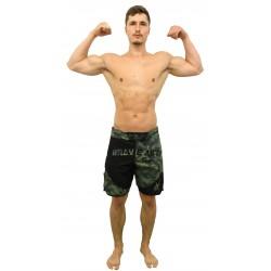 Short de MMA Front Liner Brave Art