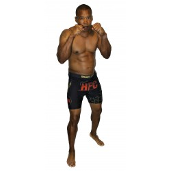 Short de MMA Compression HFC Brave Art