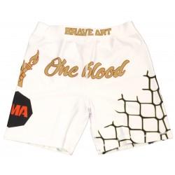 Short de MMA Compression Octogone Brave Art