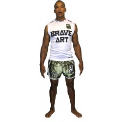 Muscle Tank World Brave Art